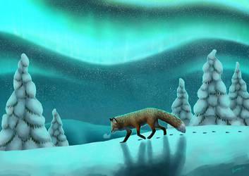 Snowy Fells by Skyybi