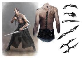 Character Design - Sardaukar Commando by TimKings-Lynne