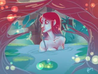 The Pond by BertieBottBeanie