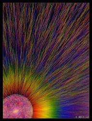 Rainbow Sun by IDeviant