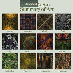 2011 summary of art by IDeviant