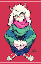 Cute Ralsei by Cinetaiyo