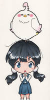 Chibi Tamako by DiscOhBot