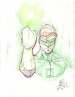 green lantern: hal jordan by larthosgrr8