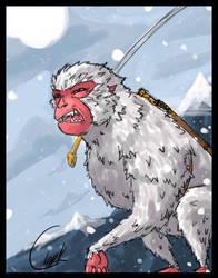 Monkey by larthosgrr8