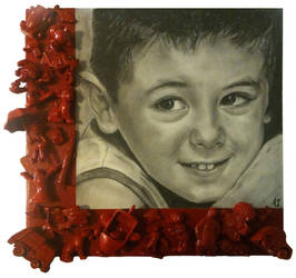 Portrait of Samuele, a 5 years old child. by ArualJay