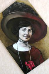 Portrait of Duchess Perugini by ArualJay
