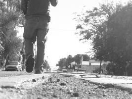 Walking by Robb-Wayward