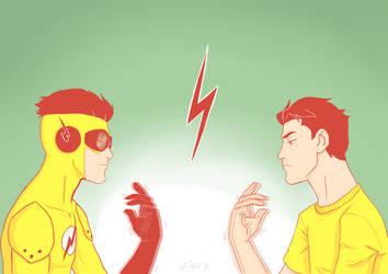 Kid Flash by Kiwa007