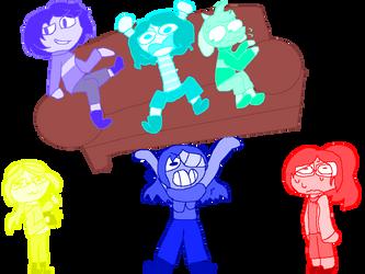 [DATALE] Draw The Squad by Da-random-drawer