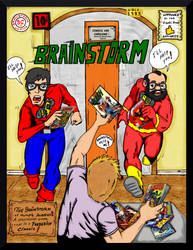 John and Mike - Flash #123 Cover Parody by Lpsalsaman