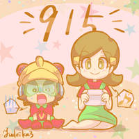 9-Volt and 5-Volt by yudeika3