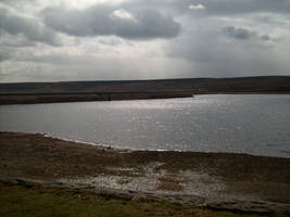 The Lodgemoor Reservoir in Better Times by Isavarg