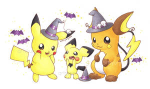 Halloween-CHU! by artsyury