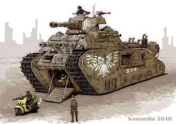 tank_diselpunk by komardin