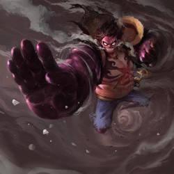 Luffy Gear 4 by vuogle