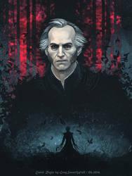 The Witcher:  Dark Emiel Regis by GreySmartWolf