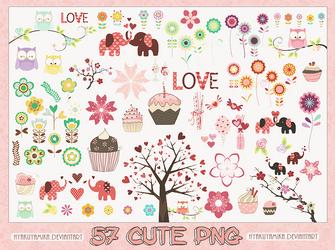 Pack 57 cute png. by Hyakuyamika