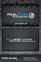 pixelGUISE v2 Business Card by AbhaySingh1