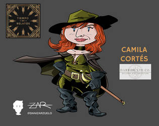 Camila Cortes by yellowpollo