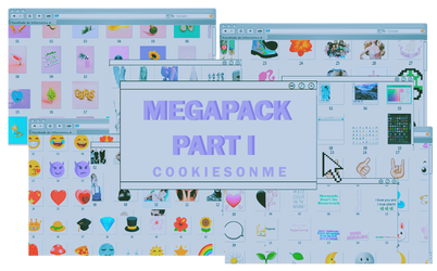 +/MEGAPACK PART I |+900 WATCHERS | THXS by COOKIESONME