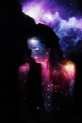 infinity of galaxy by Laplum