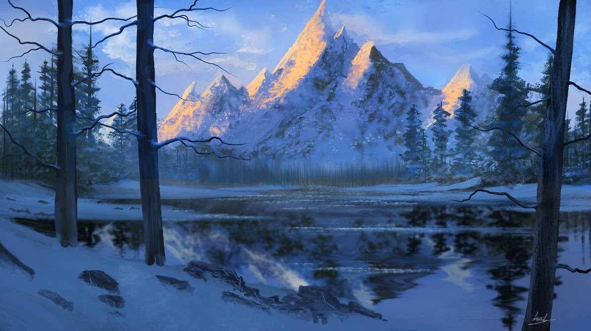 Snowy Mountains by umbatman