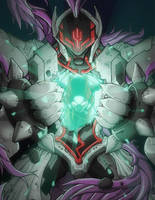 Megaman Omega by RecklessHero