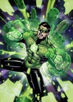Green Lantern by RecklessHero