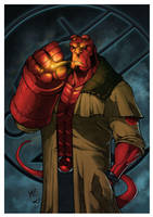 Hellboy by RecklessHero