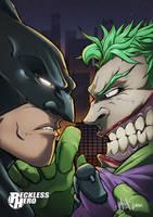 Batman Vs Joker by RecklessHero