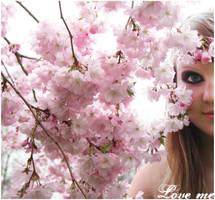 Cherry Blossom Love by MonstaBarbie