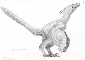 Velociraptorinea indet. by ShinRedDear