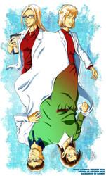 DC: Miyano Family remake with Dagron by ShinRedDear