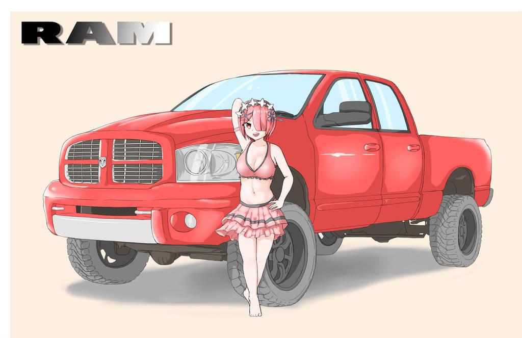 Dodge RAM by Hitokami