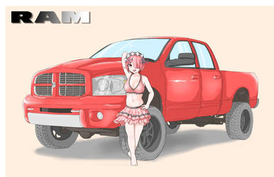 Dodge RAM by Hitokami