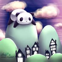Panda a la grande: Somerset. by forgottenpantaloons