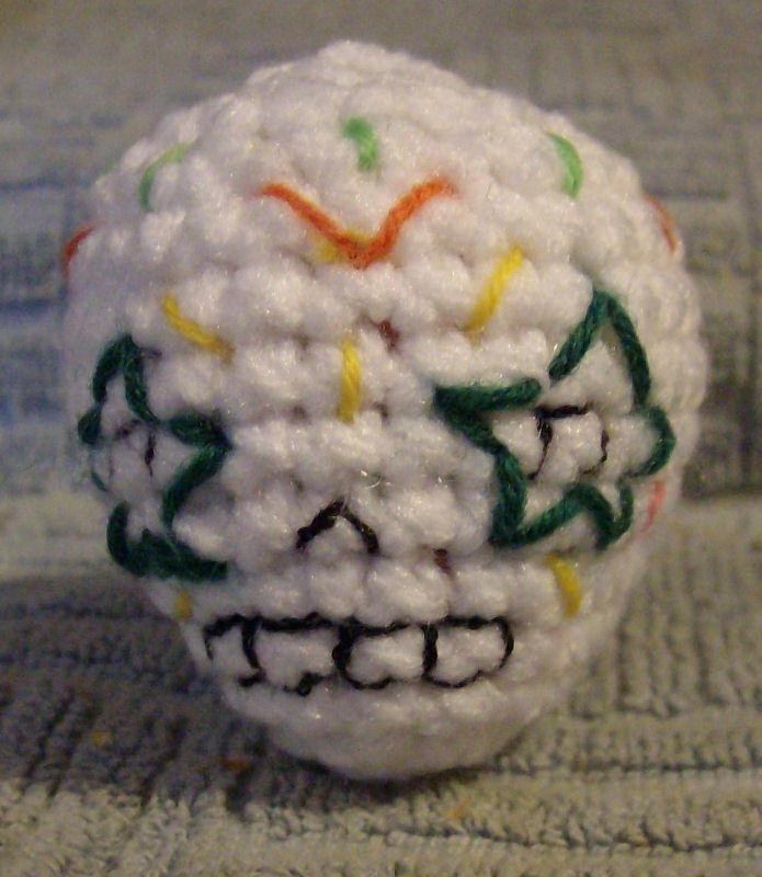 Sugar Skull A by CherokeeCampFireGirl