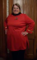 My Star Trek Uniform by CherokeeCampFireGirl