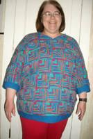 Mitered Square Sweater by CherokeeCampFireGirl