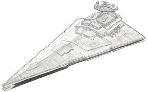 Star Destroyer by MadameFirebird