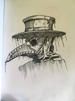 Plague doctor by hfbmartinus