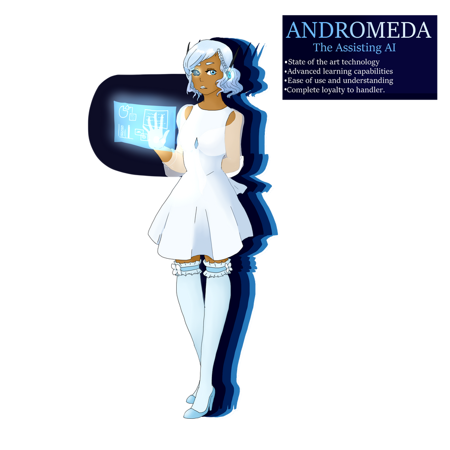 Introducing Andromeda The Assisting Ai By Lady Penumbra On Deviantart