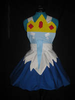 Ice King Cosplay Pinafore by DarlingArmy