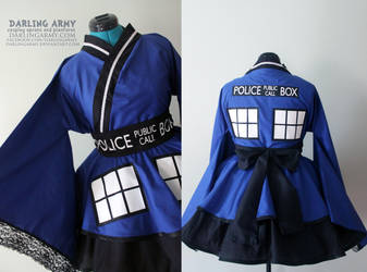 TARDIS - Doctor Who - Cosplay Kimono Dress by DarlingArmy