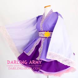 Rapunzel Tangled Cosplay Kimono Dress by DarlingArmy