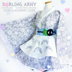 Totoro Studio Ghibli Cosplay Lolita Kimono Dress by DarlingArmy