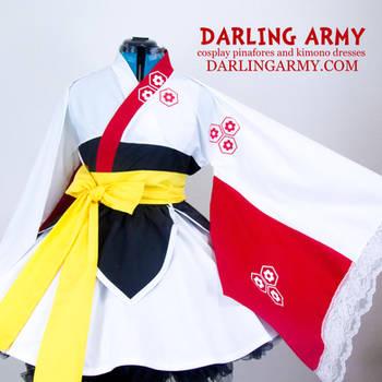 Sesshoumaru Inuyasha Cosplay Lolita Kimono Dress by DarlingArmy