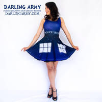 Galaxy TARDIS Doctor Who Cosplay Dress by DarlingArmy