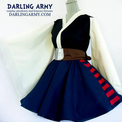 Han Solo Star Wars Cosplay Kimono Dress by DarlingArmy